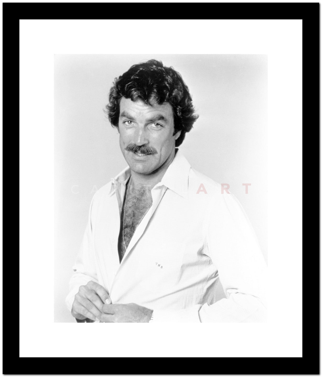 Image result for framed photo of magnum pi