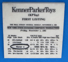Kenner Employee Owned Toys & Company Items