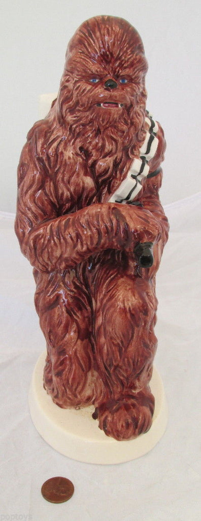"CERAMIC BANK 1982 vintage CHEWBACCA Sigma - Star Wars - 10"" TALL"