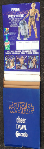 STORE DISPLAY Cheers Dawn Cascade Poster Offer '77 vintage Star Wars
