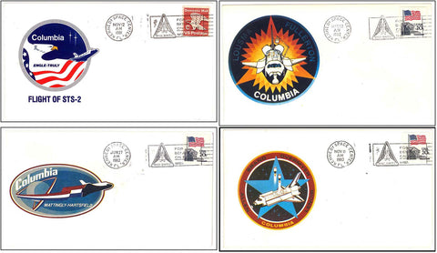 Space Shuttle Columbia postal cover launch NASA