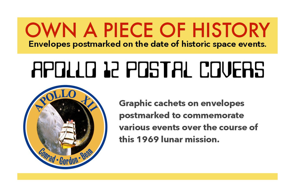 Apollo 12 postal cover NASA mission