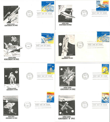 NASA postal cover space history space shuttle Apollo deep space interplanetary