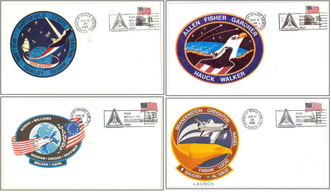 Space Shuttle Discovery postal cover launch NASA