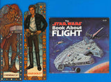 Han Solo Chewbacca Bookmarks Star Wars Book about Flight
