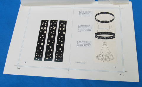 Original Artwork Layout - '83 Happy House - Star Strips - Star Wars Return of the Jedi