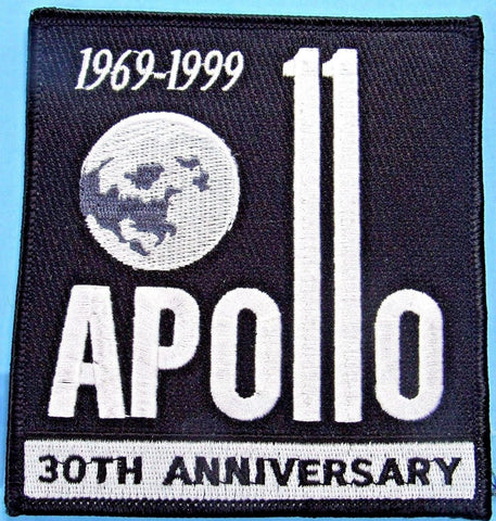 Apollo 11 anniversary patch NASA