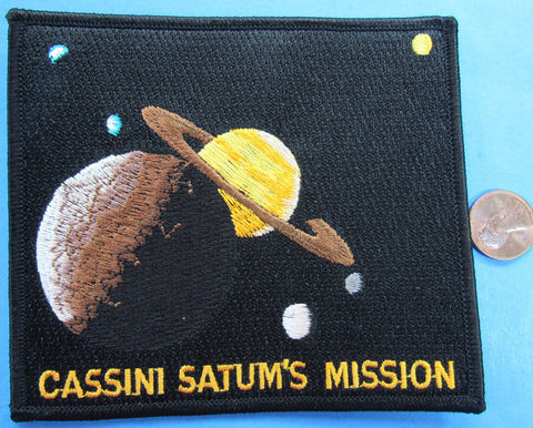 NASA Cassini Saturn mission patch