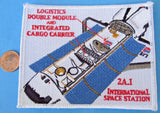 STS-96 Space Shuttle Discovery International Space Station patch