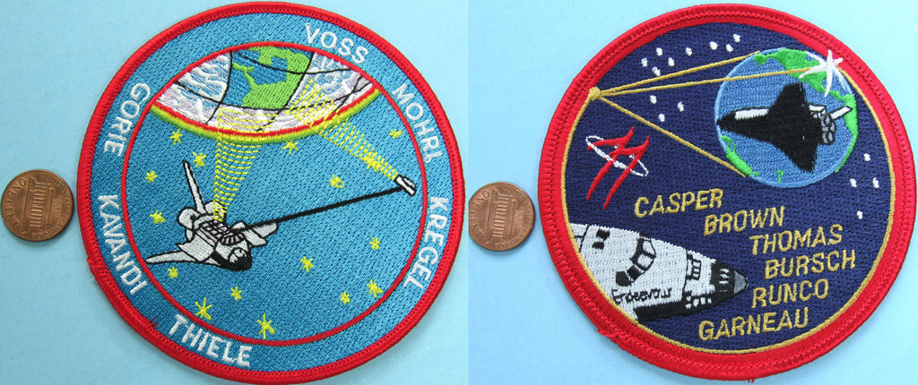 Mission patch Space Shuttle Endeavour NASA