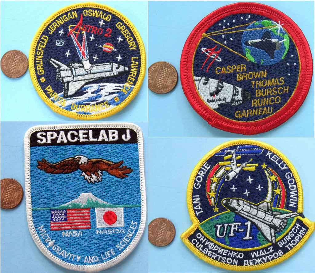 "Space Shuttle Endeavour PATCH 3"" lot of 20 - NASA wholesale lot"