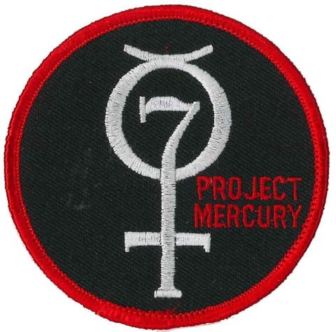 Mercury Project patch NASA space mission