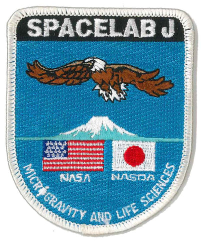 Mission patch Space Shuttle Endeavour NASA Spacelab J