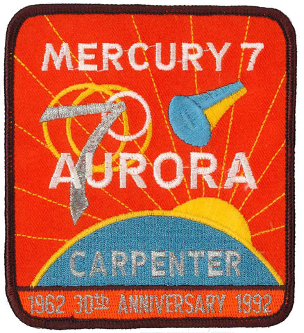 Mercury 7 patch anniversary collectible NASA
