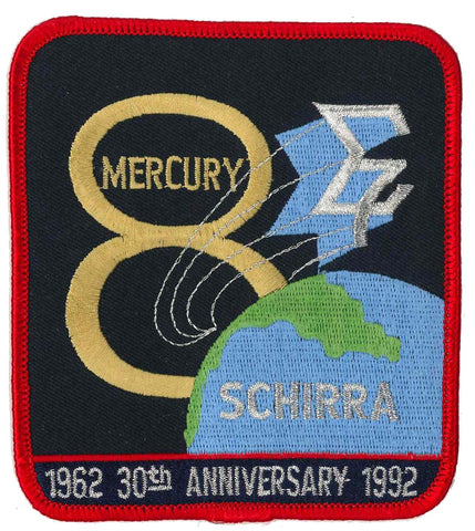 Patch Mercury 8 Wally Schirra anniversary collectible