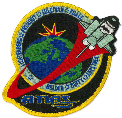 Space Shuttle Atlantis patch NASA STS-45