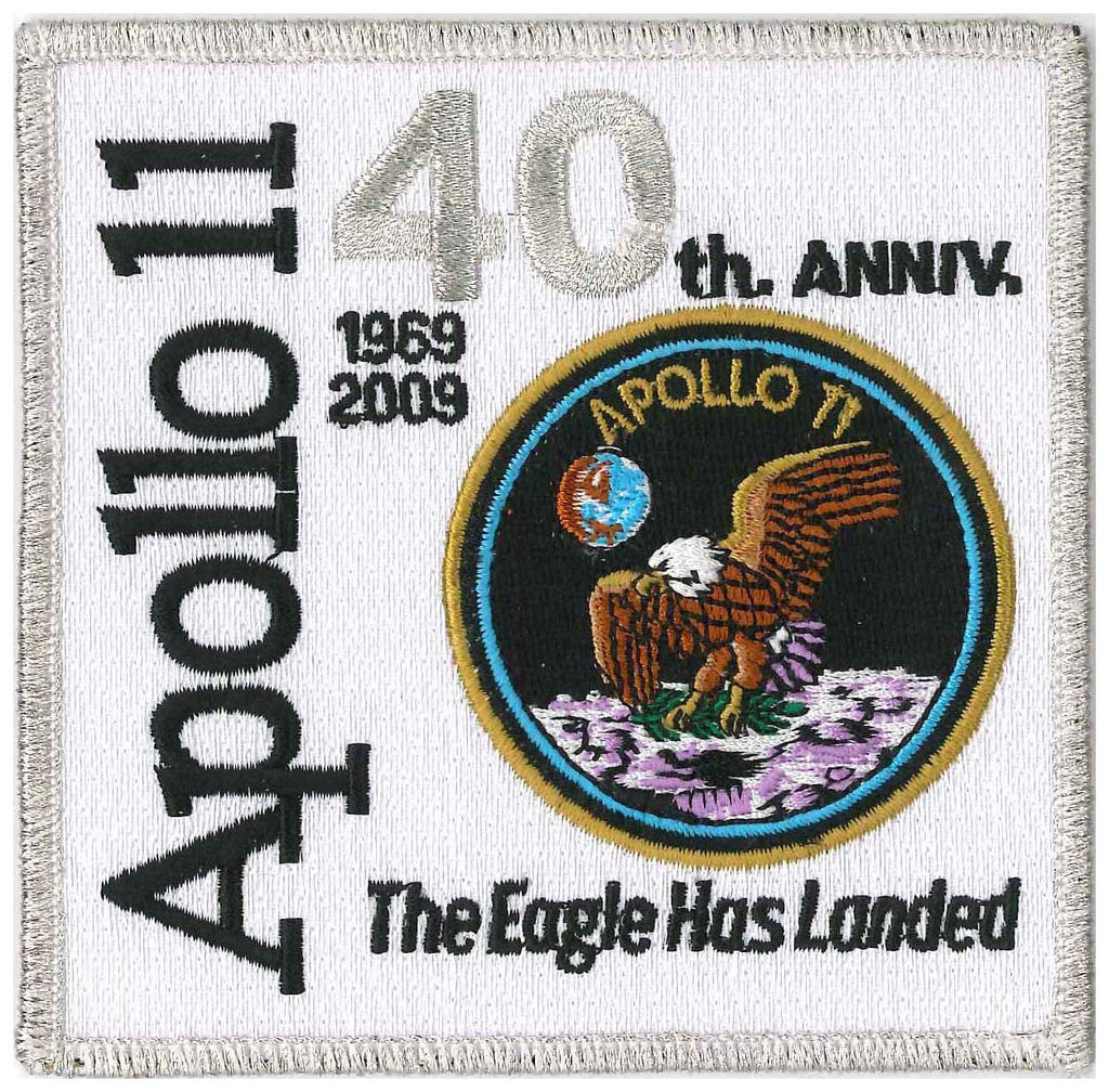 Apollo 11 patch anniversary NASA