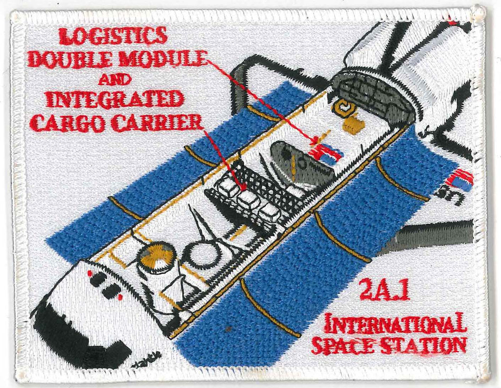 Patch NASA Space Shuttle Discovery STS-96 International Space Station