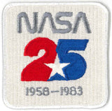 NASA 25th anniversary space patch