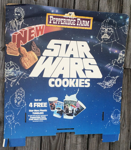 STORE DISPLAY Pepperidge Farm Header #3 '83 vintage Star Wars Return of the Jedi