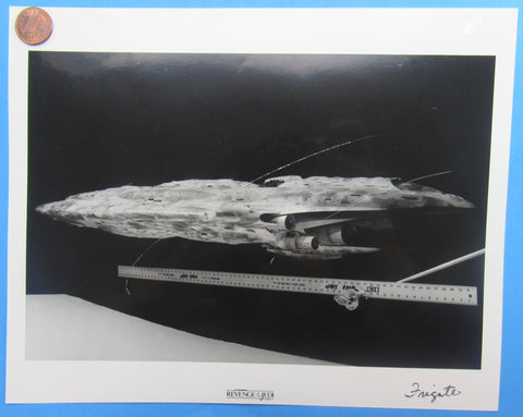 LUCASFILM 1982 photo reference REVENGE of the Jedi - Rebel Frigate Model