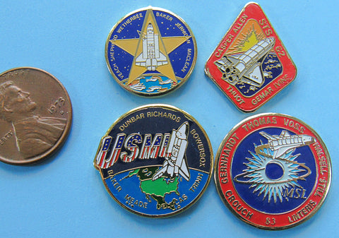 Mission Pin Space Shuttle Columbia NASA