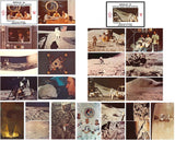 Apollo 14 15 vintage postcard photos NASA