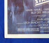 Empire Strikes Back Style A one sheet movie poster, Lucasfilm Employee collection Star Wars