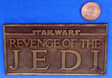 Revenge of the Jedi Bronze Paperweight Exclusive to Cast Crew & VIPs Star Wars