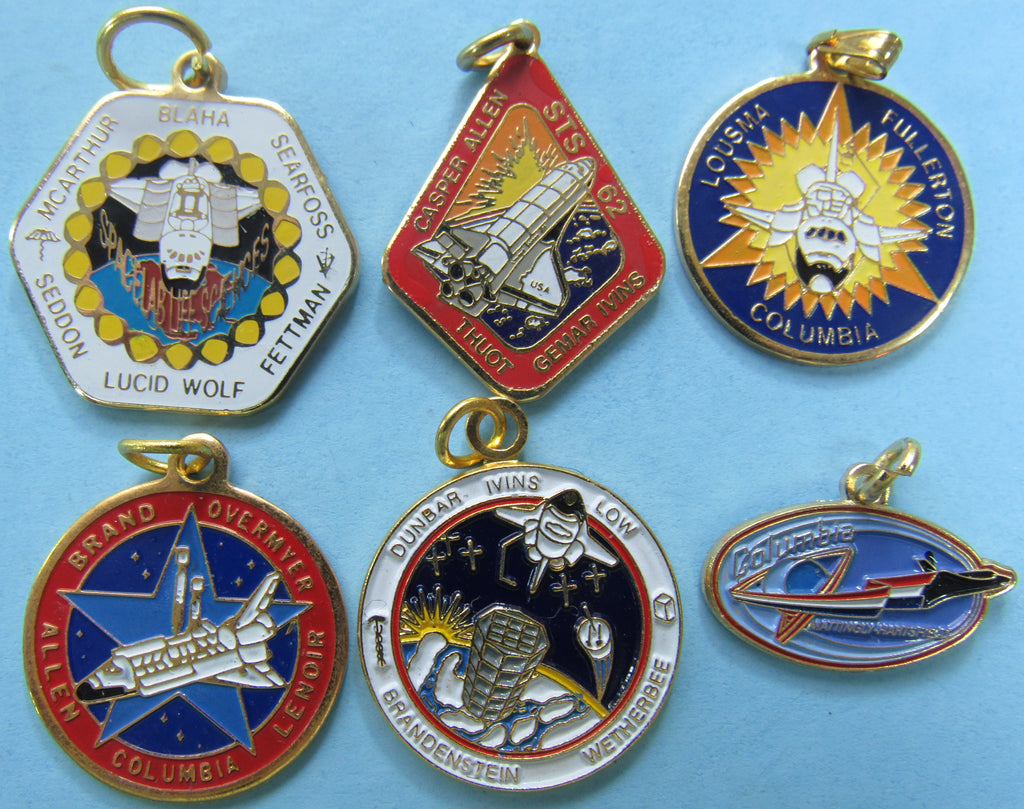 Mission Charm Space Shuttle Columbia NASA