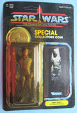 Star Wars vintage Kenner action figure Han Solo in Carbonite coin POTF