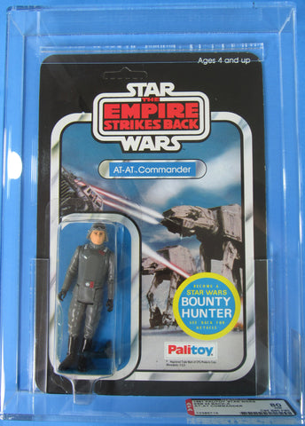 Vintage Palitoy AT-AT Commander Star Wars AFA 80