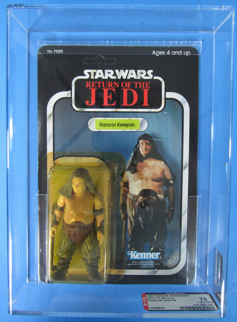 Vintage Kenner Rancor Keeper Star Wars AFA 75