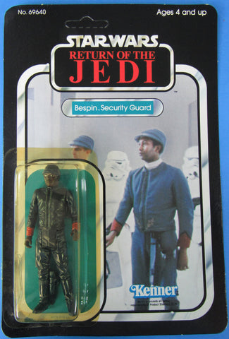 Star Wars vintage Kenner action figure MOC - Bespin Security Guard (black) - Return of the Jedi