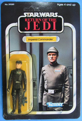 Star Wars vintage Kenner action figure MOC - Imperial Commander - Return of the Jedi