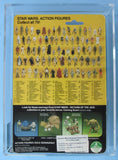 Han Solo (in Trench Coat) 79-back ITALIAN Sticker - MOC AFA 80 - Kellerman Star Wars Kenner Collection