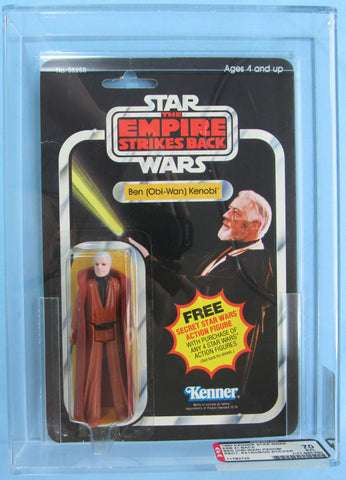 Ben (Obi-Wan) Kenobi - 1ESB-21H - MOC AFA 70 - Kellerman Star Wars Kenner Collection