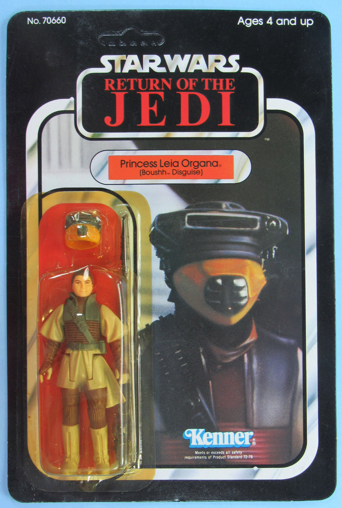 Star Wars vintage Kenner action figure MOC - Princess Leia (Boushh) - Return of the Jedi