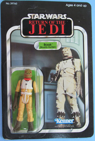 Star Wars vintage Kenner action figure MOC - Bossk - Return of the Jedi