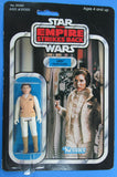 Leia (Hoth Outfit) ESB 41-back with Dutch BOBA FETT offer Sticker - MOC - Kellerman Star Wars Kenner Collection
