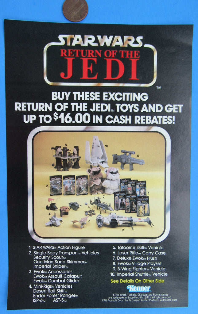 Star Wars Kenner Catalog Ad