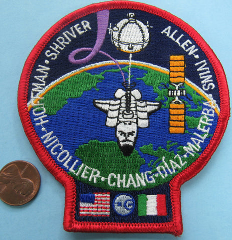 Space Shuttle Atlantis patch NASA STS-46