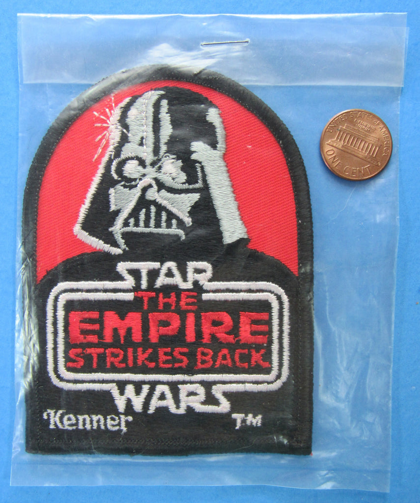 PATCH promotional PRIZE - '80 vtg Kenner Star Wars Sweepstakes - Darth Vader
