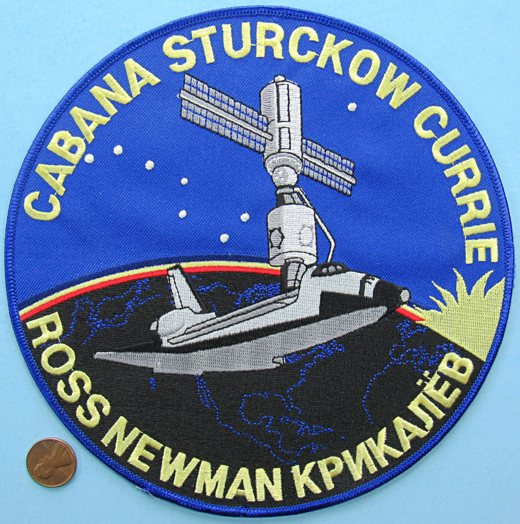 Mission patch Space Shuttle Endeavour NASA jacket patch STS-88 International Space Station