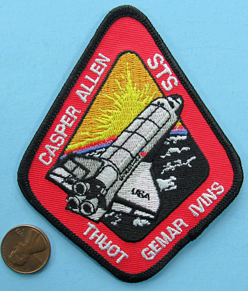 Mission patch Space Shuttle Columbia NASA STS-62