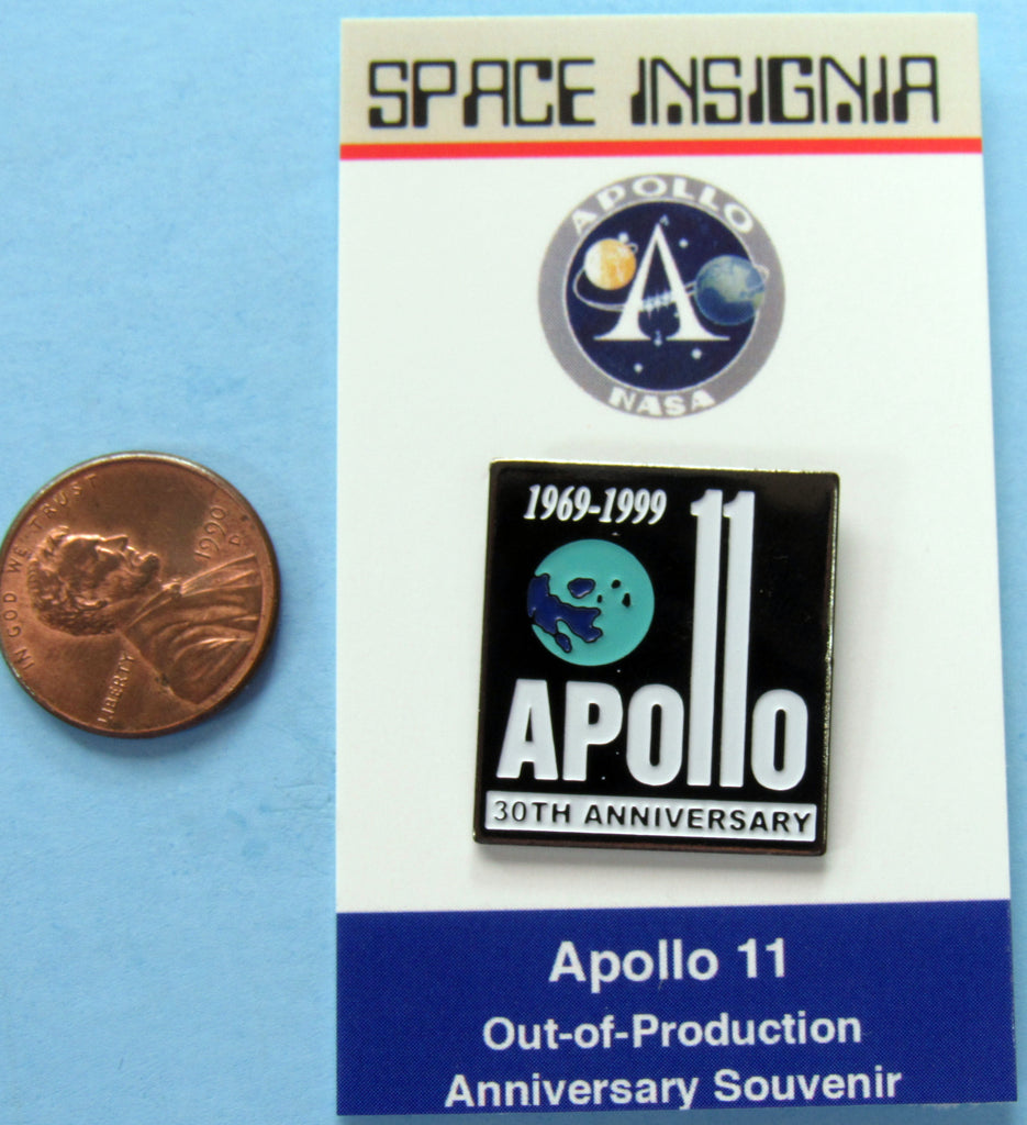 Apollo XI 11 NASA Enamel Pin 30th Anniversary