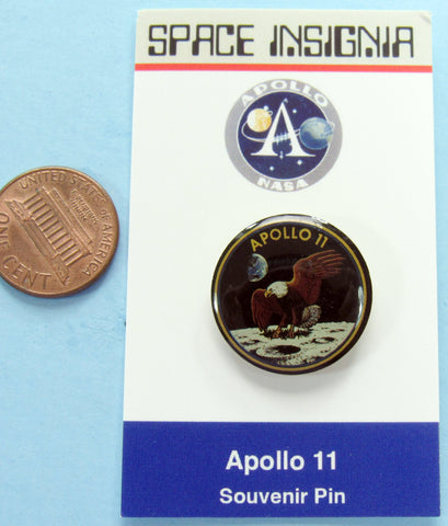 Apollo XI 11 NASA Pin