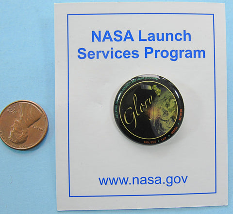 NASA Launch Services Glory pin