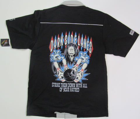 Bowling Shirt DARK SIDE LANES - The Emperor - Size Small - Celebration V - '10 DISCONTINUED Star Wars