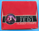 STORE DISPLAY Rubber Stamps '83 vintage Star Wars Return of the Jedi